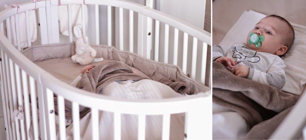 Stokke Sleepi letto con bimbo