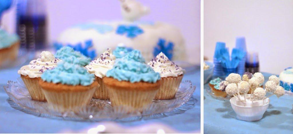Cupcakes e Cakepops frozen