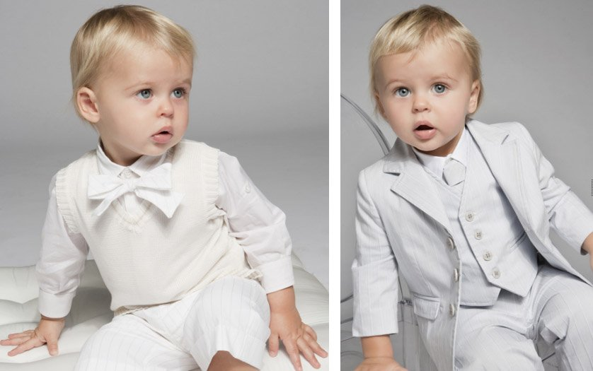 Vestiti Eleganti Bimbo 6 Mesi.Abiti Cerimonia Bimbo Bianco 2 Mammachevita