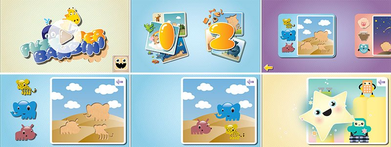 Istantanee Puzzle per bambini