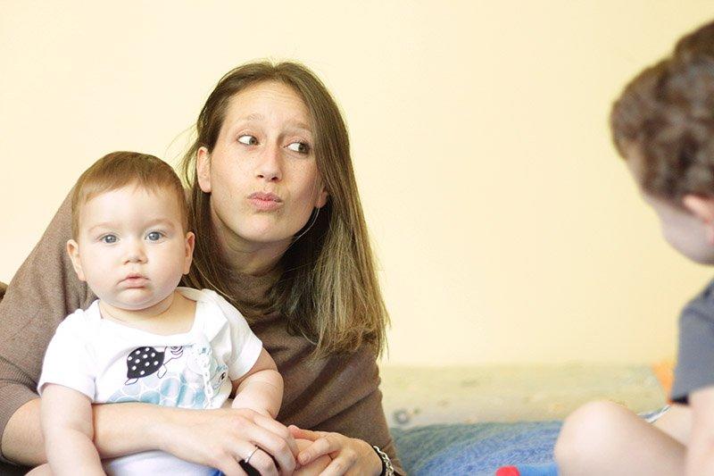 Quando nasce una mamma io Vincy e Cesare