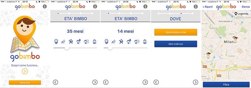 Istantanee GoBimbo app