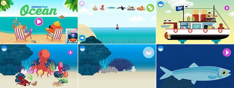 Istantanee Ocean Marco Polo app