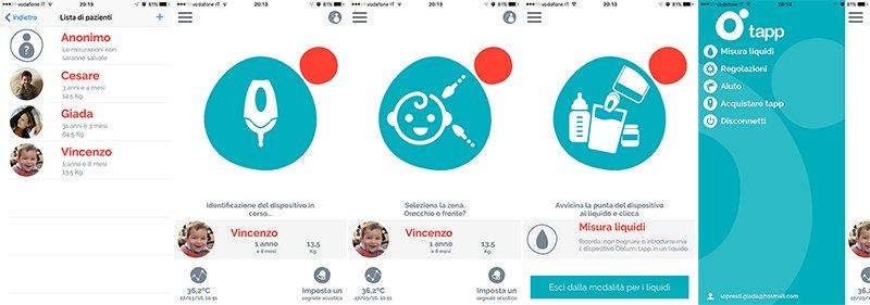 Istantanee Oblumi Tapp app