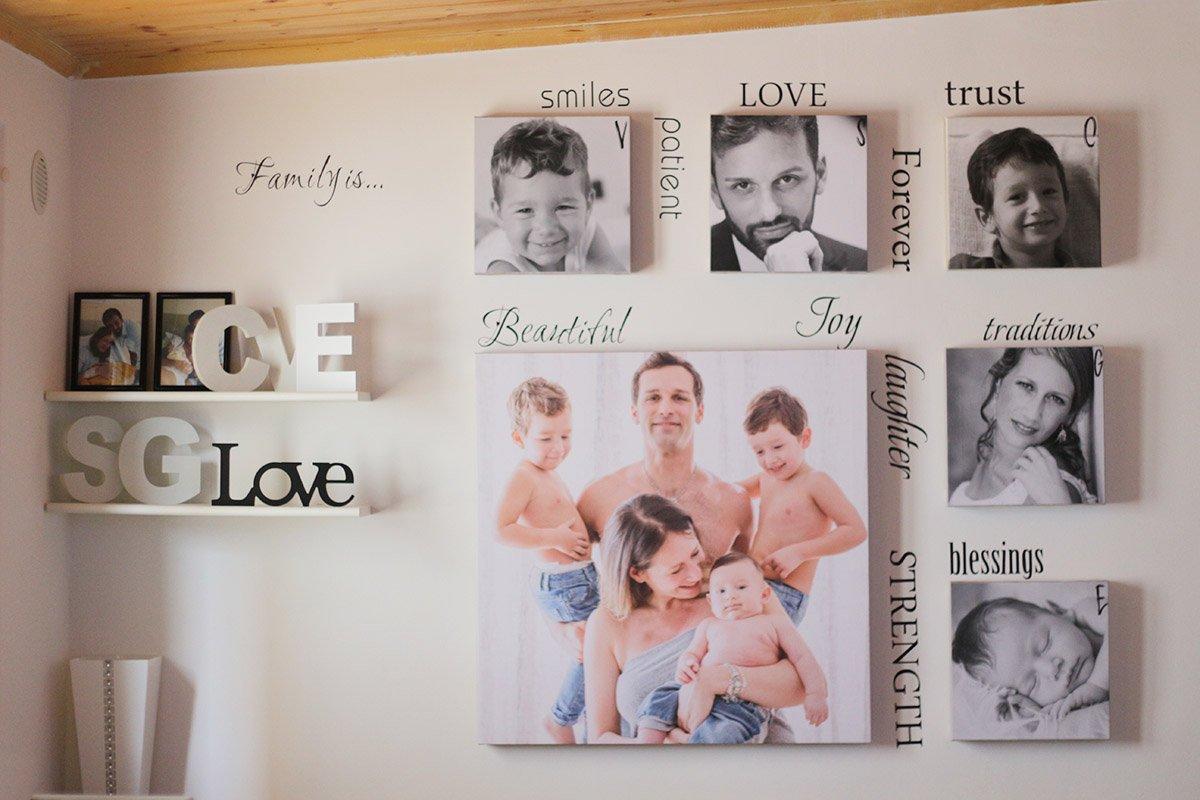 Foto quadro famiglia san valentino famiglia