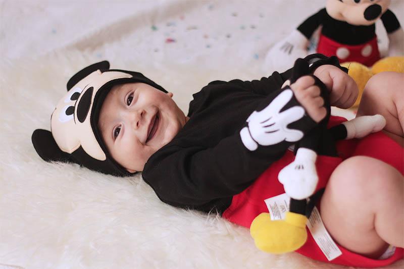 Acquista taglia 7 foto ufficiali Vestiti di carnevale per neonati. Il costume di Topolino ...