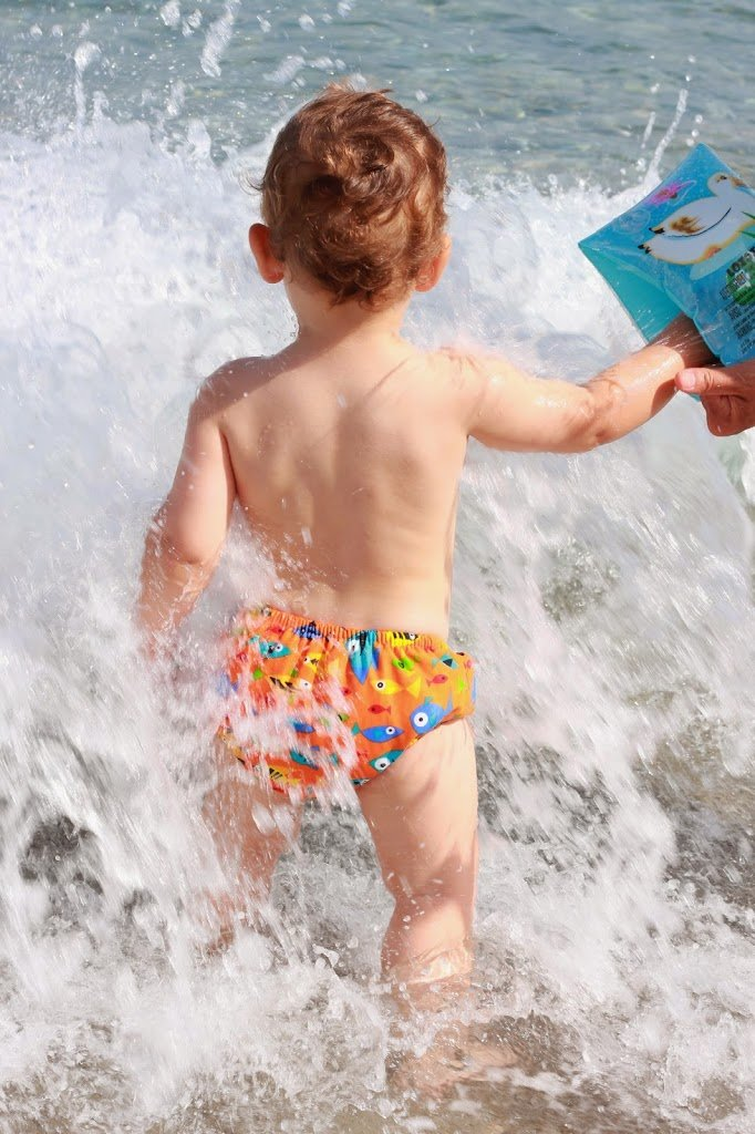 Costume iPlay indossato al mare