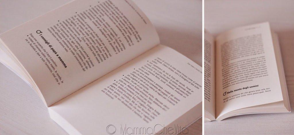 Pagine del libro Ipapà vengono da marte, le mamme da venere